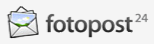 Fotopost24 Fotoservice Logo